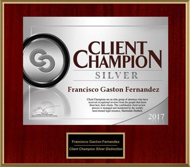 2017 Client Champion Award