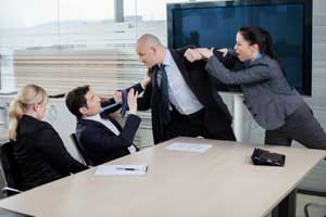 Photo of Office Argument turning into Assault