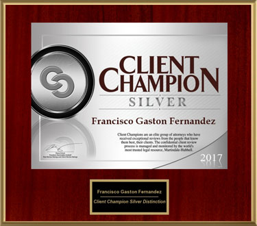 2017 Client Champion Award