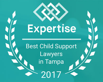 2017 Best Child Support Lawyers Award from Expertise
