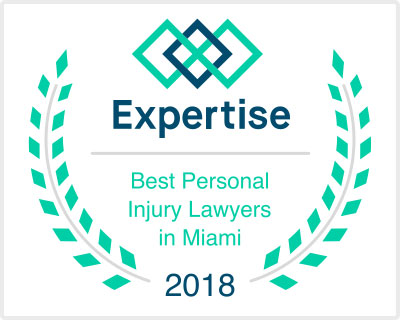 2018 Best Personal Injury Lawyers Award from Expertise
